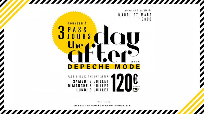 Le pass 3 jours « The Day After »